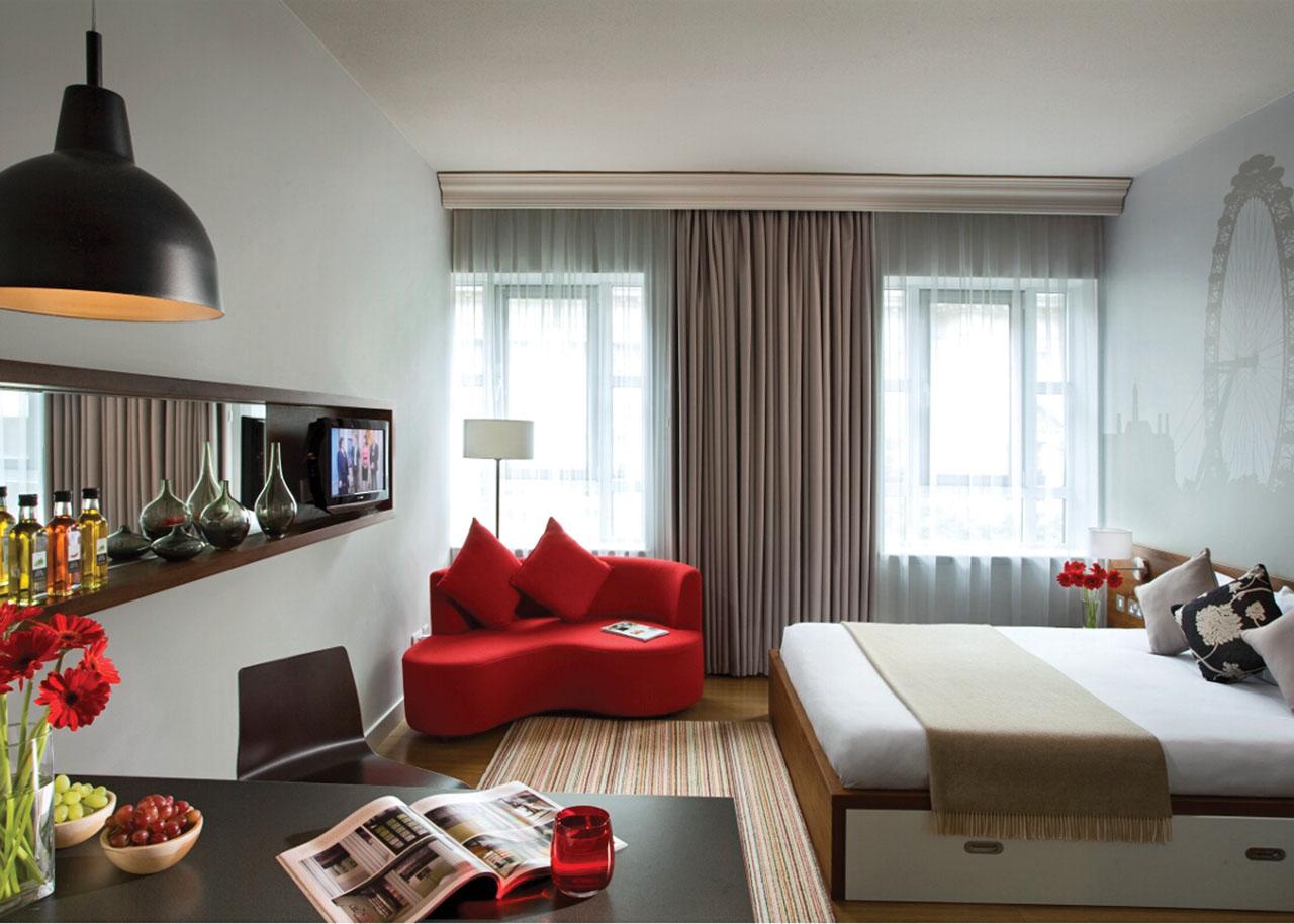 Цветовое оформление однокомнатной квартиры