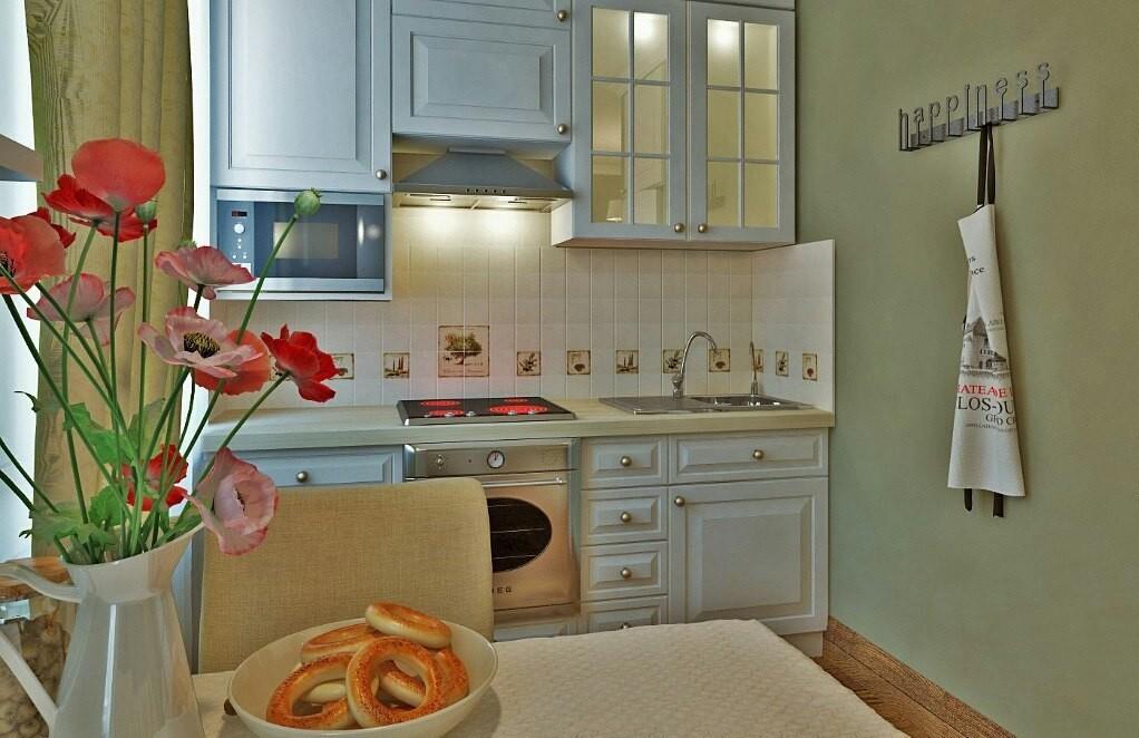 Цветовое решение кухни в двухкомнатной квартире