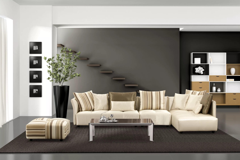 Экономия пространства в гостиной