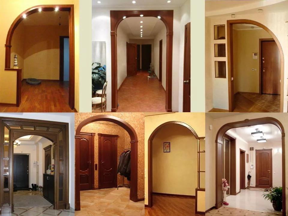 Варианты арочных проемов в малогабаритной квартире
