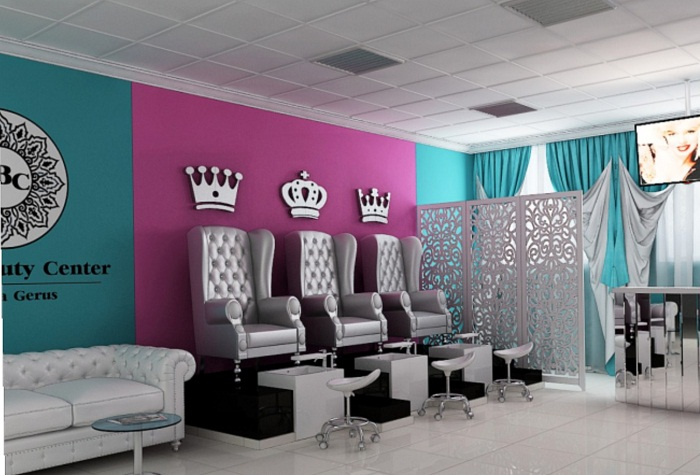 Вариант дизайна салона красоты