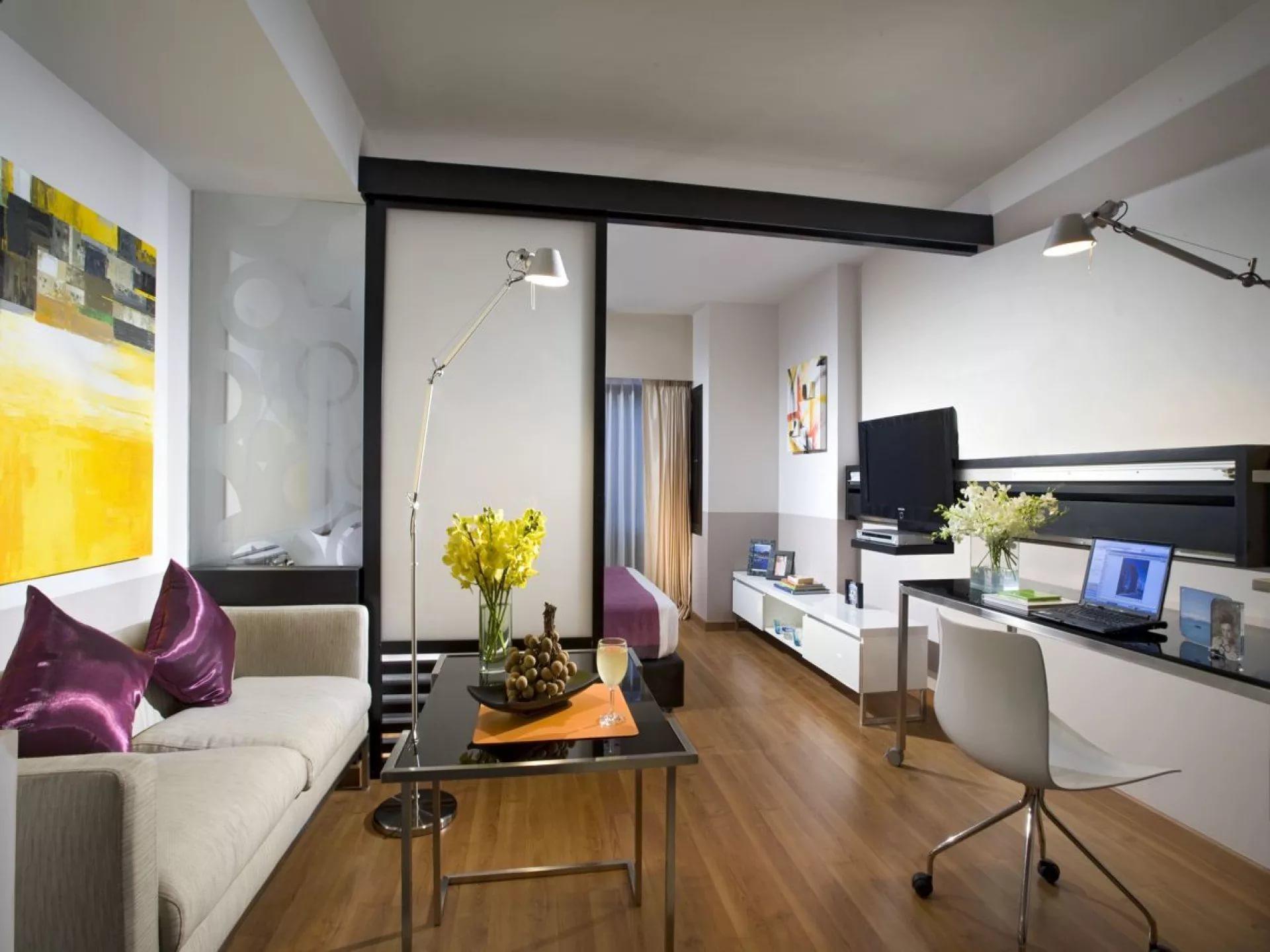 Дизайн двухкомнатной малогабаритной квартиры