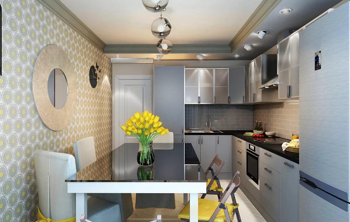 Дизайн интерьера кухни 10 кв. м