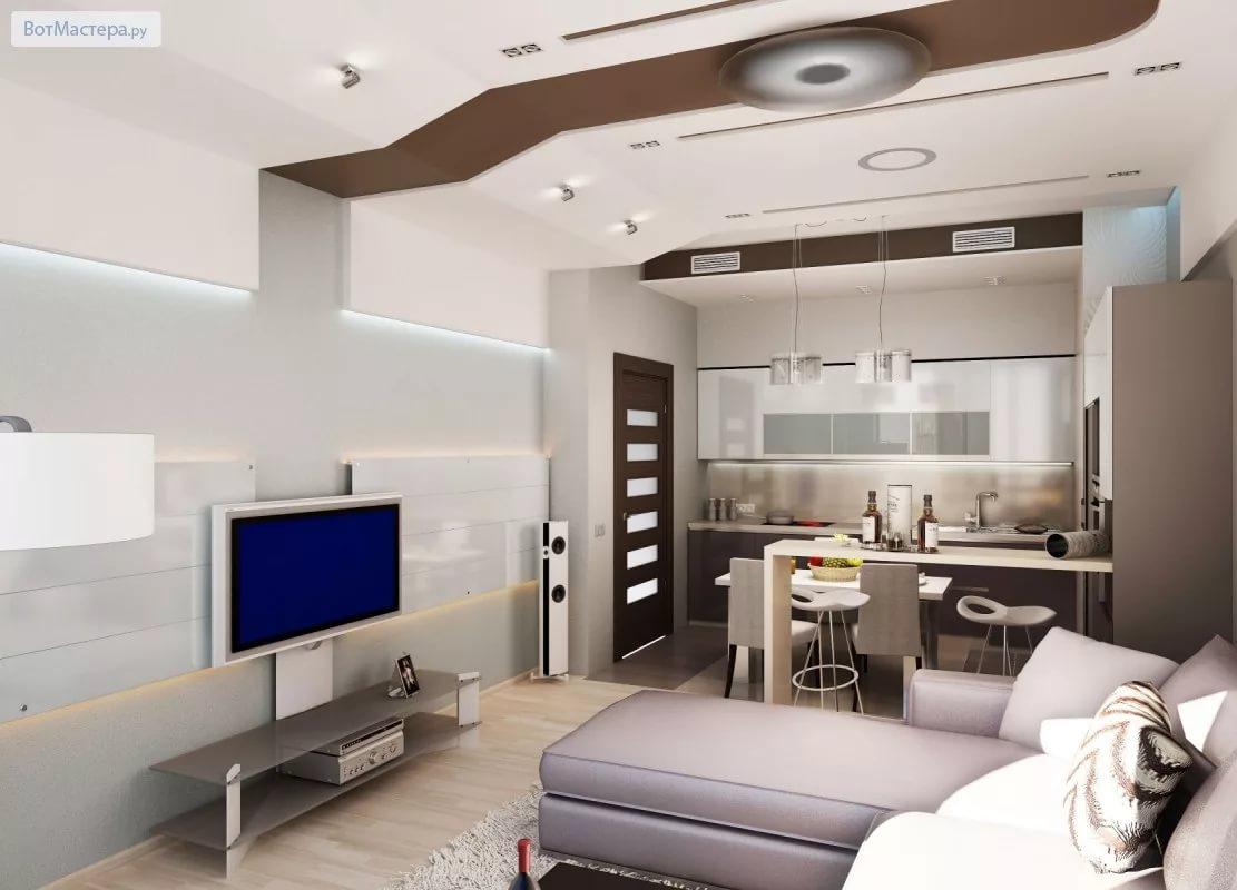Дизайн трехкомнатной квартиры в стиле хай-тек