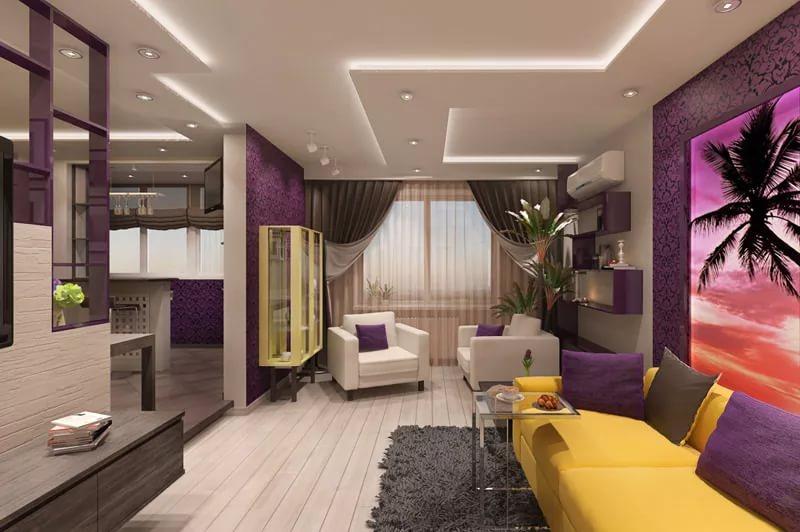 идеи дизайна фото трехкомнатной квартиры оборудован лежаками зонтиками