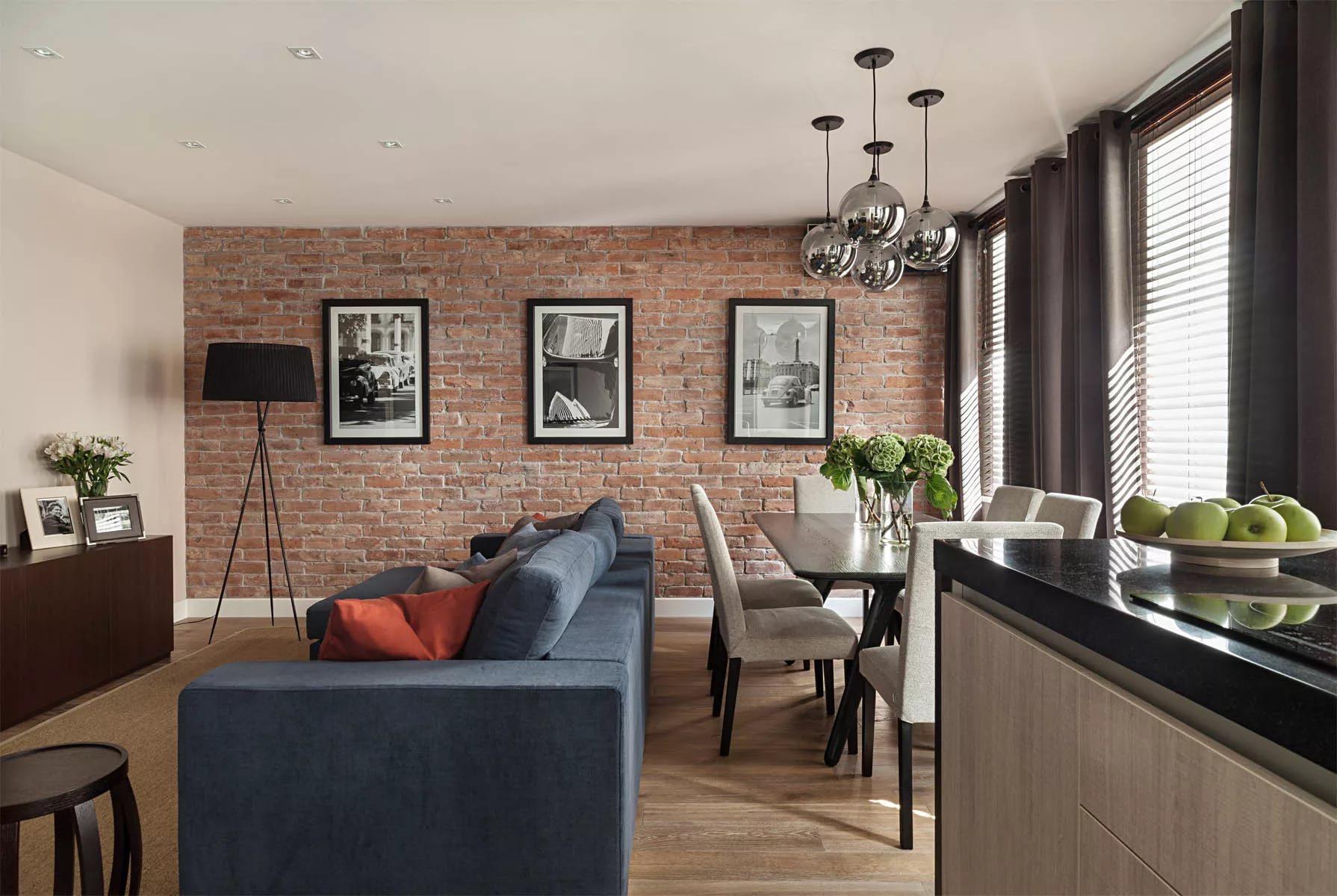 Зонирование квартиры-студии мебелью