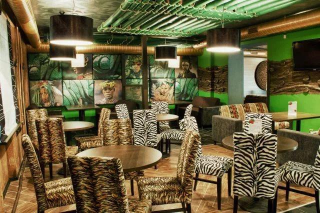 Кафе в экзотическом стиле