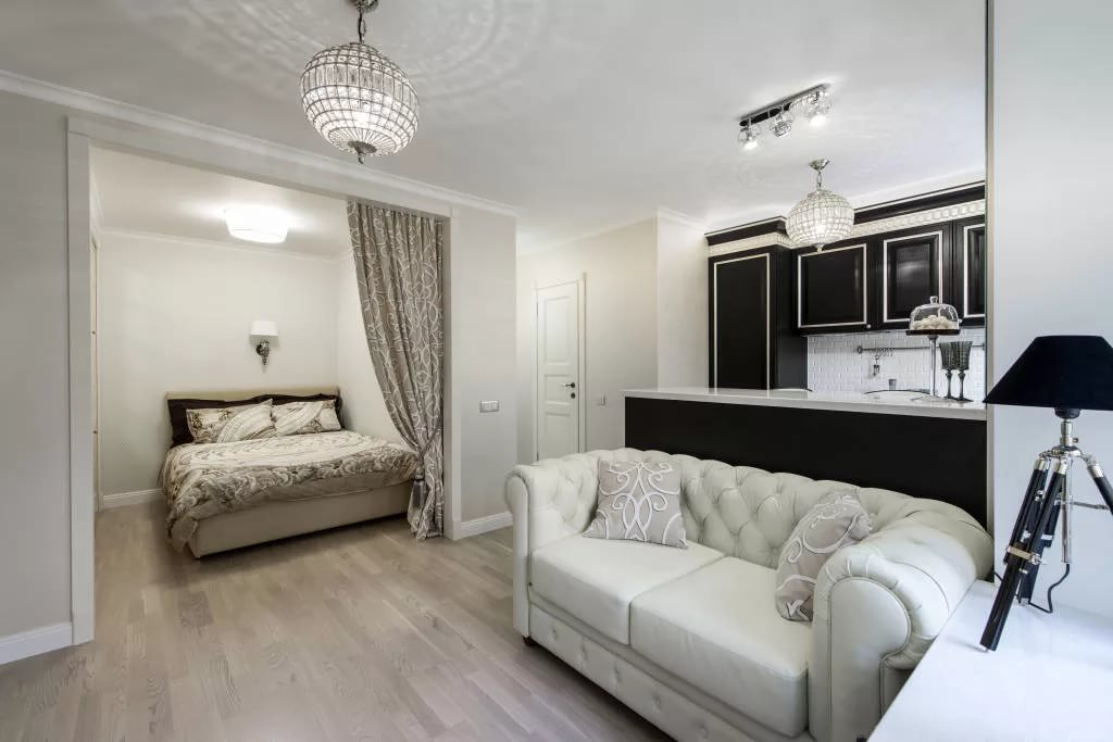 Малогабаритная квартира в стиле арт-деко
