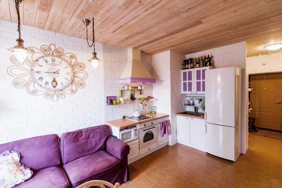 Малогабаритная квартира в стиле прованс