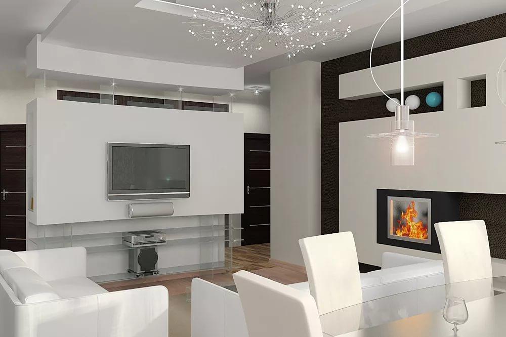 Минимализм в дизайне квартиры студии