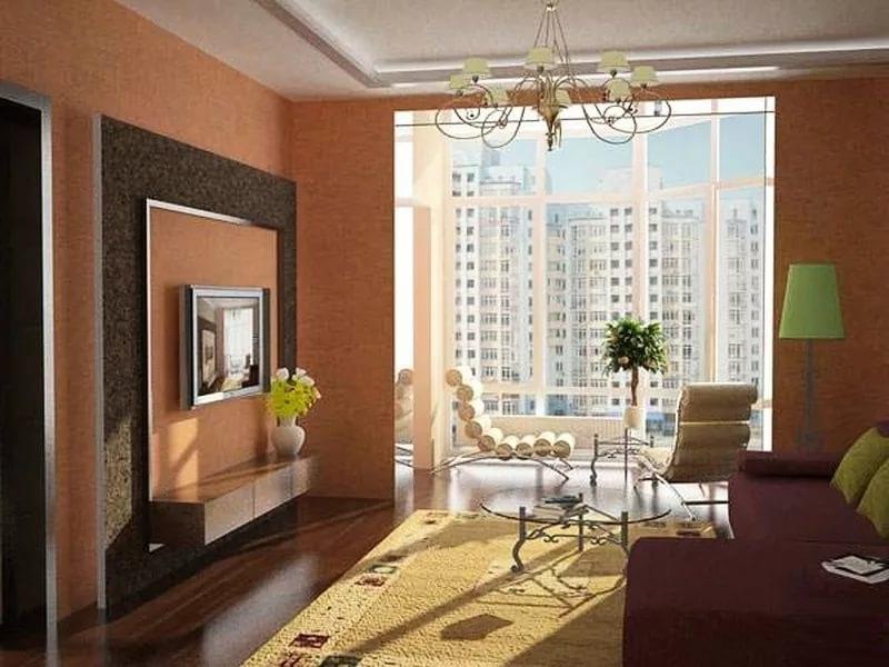Дизайн интерьера в трехкомнатной квартире: фото планировки, .