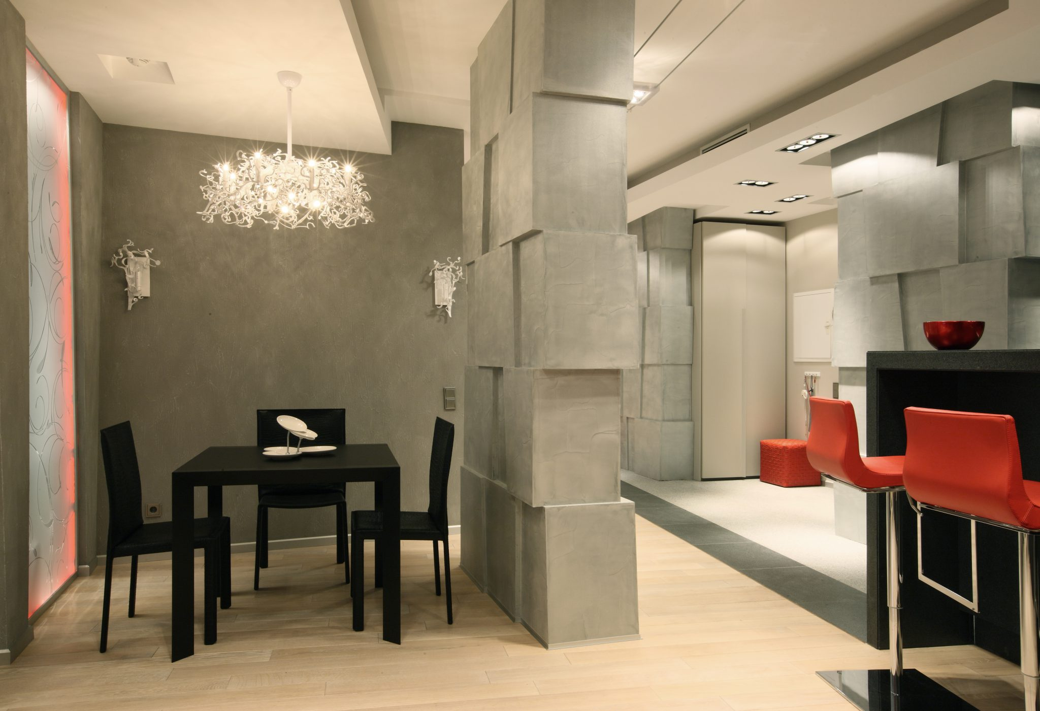 Оригинальный дизайн квартиры студии