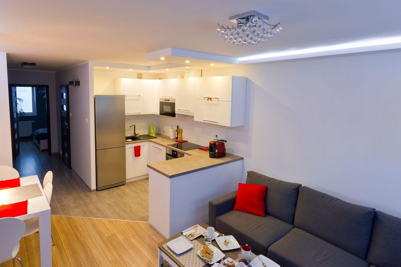 Освещение кухни в однокомнатной квартире