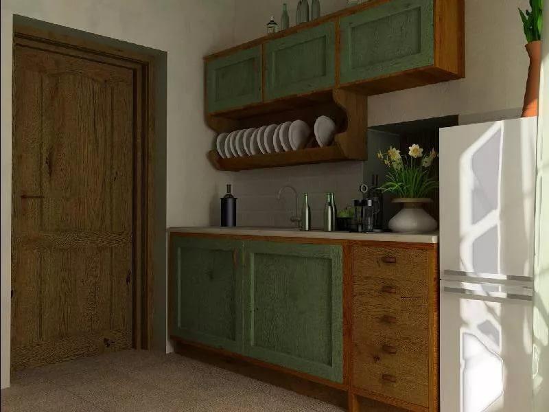 Перенос кухни в прихожую