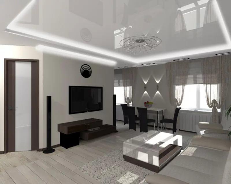 Перепланировка в трехконатной квартире