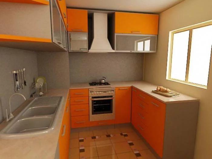 П-образная планировка кухни 10 кв.м