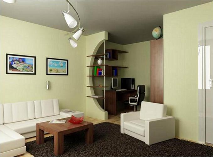 Рабочая зона в малогабаритной квартире