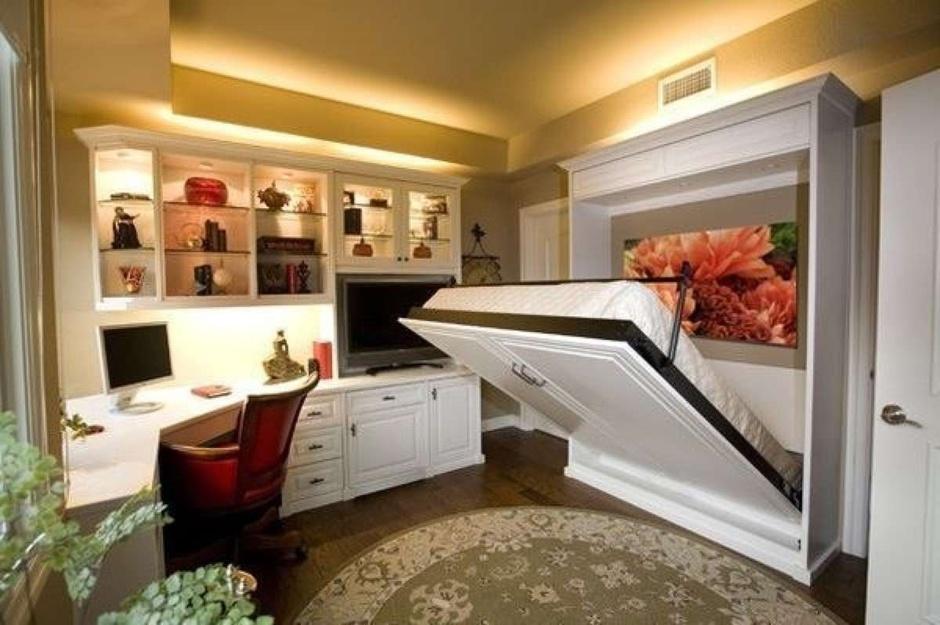 Раскладная мебель в квартире-студии