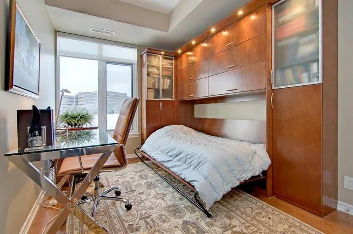 Раскладная мебель в малогабаритной квартире