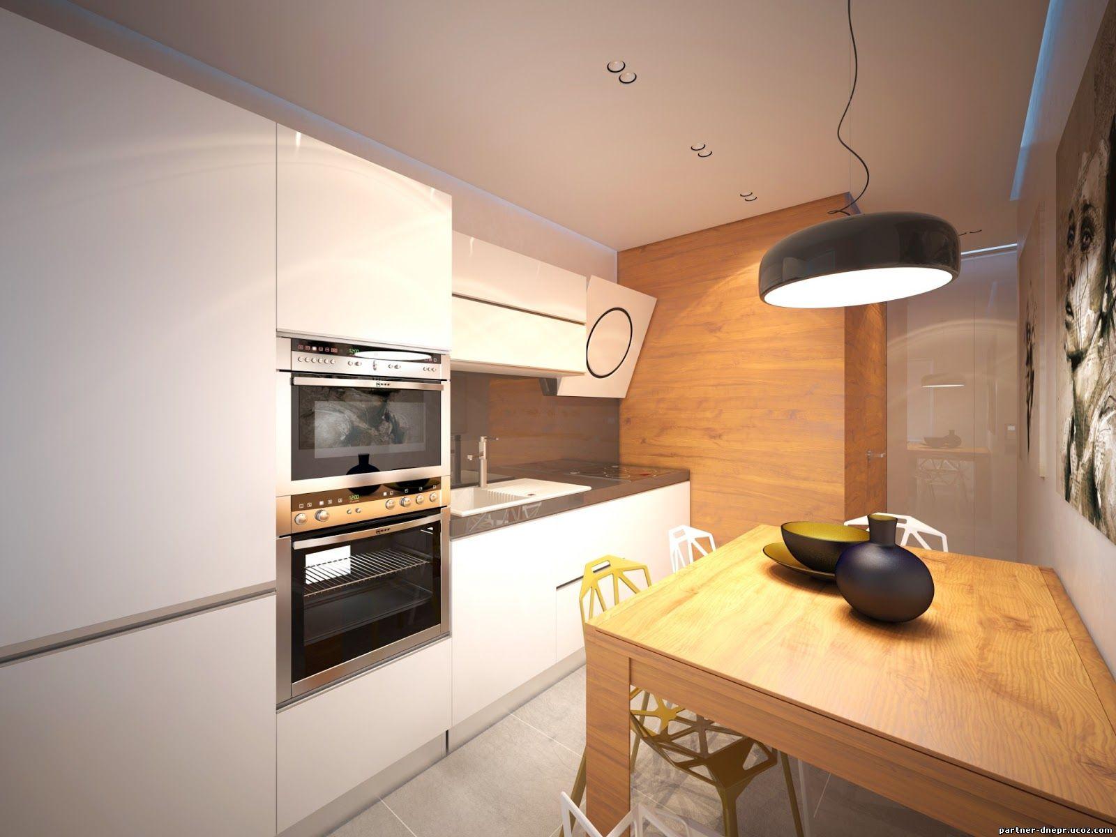 Расстановка мебели на кухне в малогабаритной квартире
