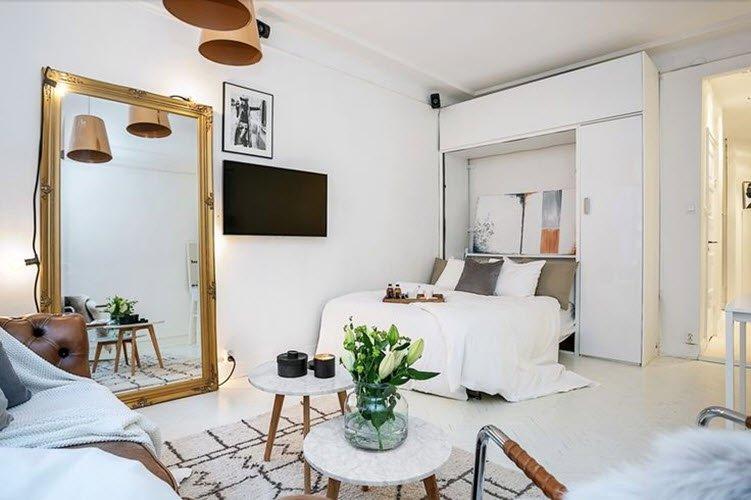 Современное оформление малогабаритной квартиры