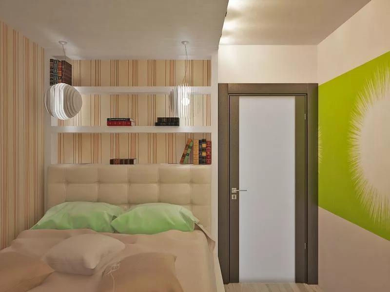 Спальня из кухни в однокомнатной квартире
